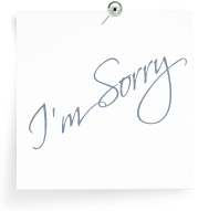 The Apology Board