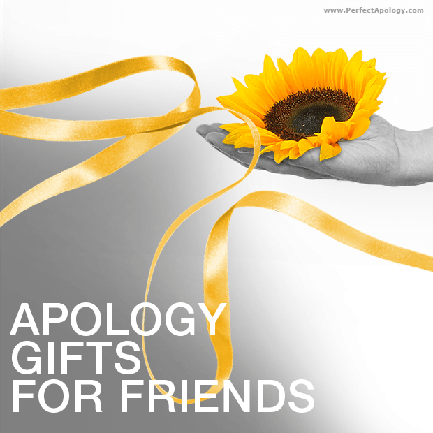 A hand extended with a sunflower resting in the palm with a free flowing  golden yellow ribbon