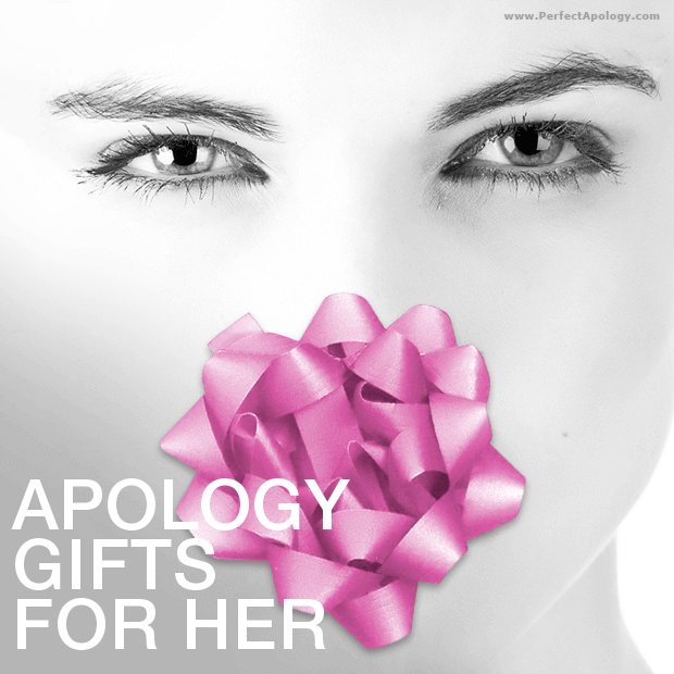 Woman's face in black and white with a pink bow over her mouth area