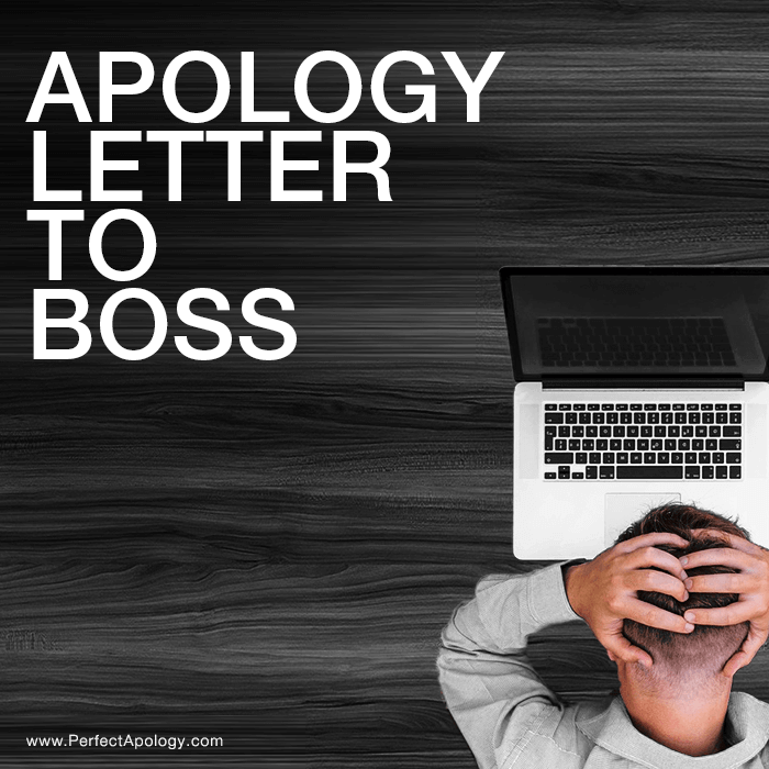 Apology Letter To Boss | The Perfect Apology
