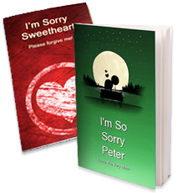 Personalized Sorry Love Book