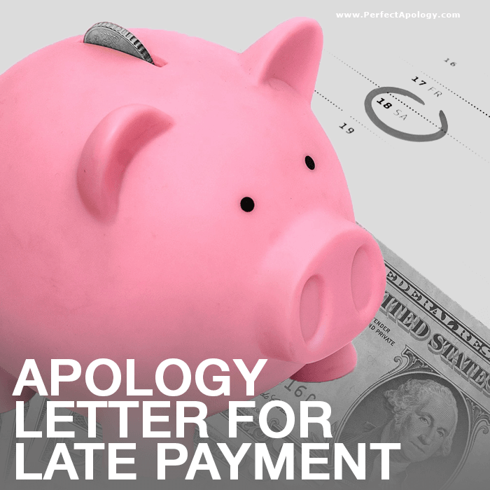 Apology Letter For Late Payment | Business Apology Letters