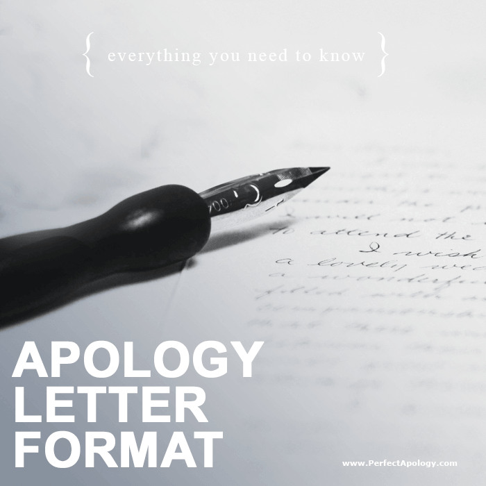 A fountain pen resting on a handwritten apology letter