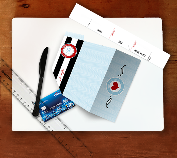 Tools you'll need for scoring the envelope